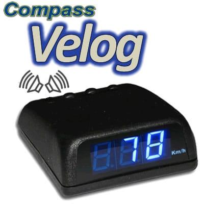VELOCÍMETRO DIGITAL COMPASS VELOG 1
