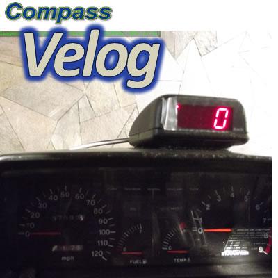 VELOCÍMETRO DIGITAL COMPASS VELOG 3