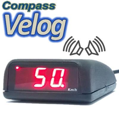 VELOCÍMETRO DIGITAL COMPASS VELOG