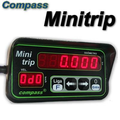VELOCÍMETRO DIGITAL COMPASS MINITRIP