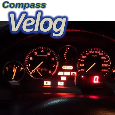 VELOCÍMETRO DIGITAL COMPASS VELOG 4