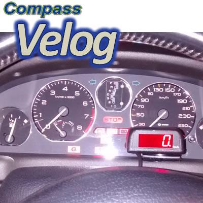 VELOCÍMETRO DIGITAL COMPASS VELOG 5